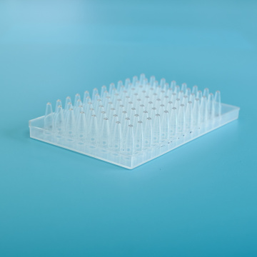 Plaque transparente pcr 0,2 ml