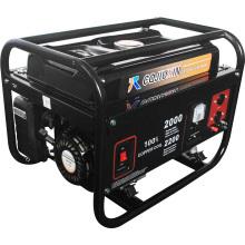 2500W 2.5kw Gerador de gasolina com partida chave ou começo do recuo