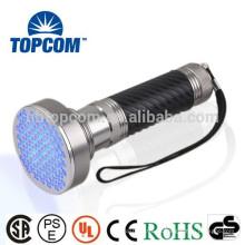 Linterna UV 100LED 390-395nm ventas calientes