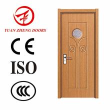 Teakholz-Holz-Tür-Modelle PVC-MDF-Tür mit guter Qualität