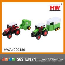 Горячие продажи 1:43 тянуть обратно diecast фермер грузовик мини-трактор для детей