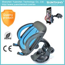 Suporte do telefone do carro do suporte da montagem do pára-brisa da sução de 360 rotações 6019