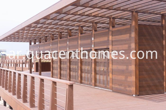 Reliable Glued Laminated Timber House Project