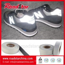 0.8mm thickness Reflective leather for shoes material