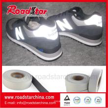 0,8 мм толщина Светоотражающий кожа обувь материал