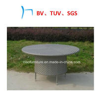 Outdoor Furniture Rattan Furniture Hand Weaving Round Tables (LS-170)