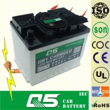 646, 12V 60AH Dry Charged Automotive Starter Batteries