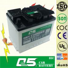 DIN55 12V55AH, Lead-Acid Dry Charged Car Battery