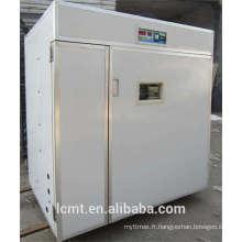 4000 oeufs entièrement automatisés fabricants d'incubateurs de vente directe