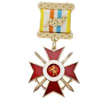 High Quality Cheap Custom Metal Symbol Sword Medal Medallion