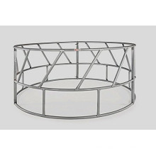 China Hot Dipped Galvanized Cattle/ Horse Bale Ring Feeder