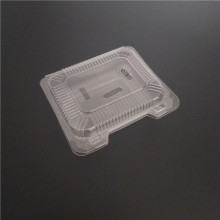 Disposable plastic strawberry fruit container