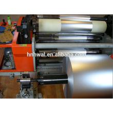 Яркая алюминиевая фольга марки 0.006 мм для упаковки