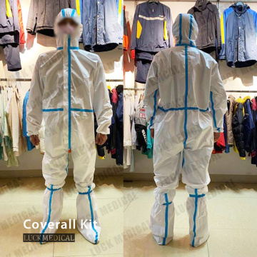 Disposable Protective Coverall PPE Kit