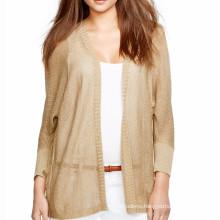 15PKLS20 poncho 100% linen clothing autumn cardigan