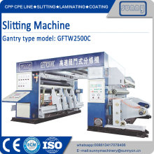 Paper Roll Automatically Rewinding Slitting Machine