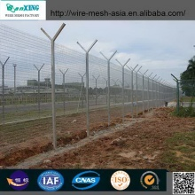 Hot-Dip Galvanized Wire Mesh Security Fence