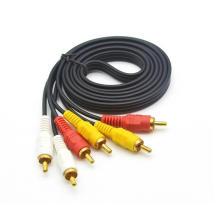 Câble audio et vidéo 3RCA vers 3RCA