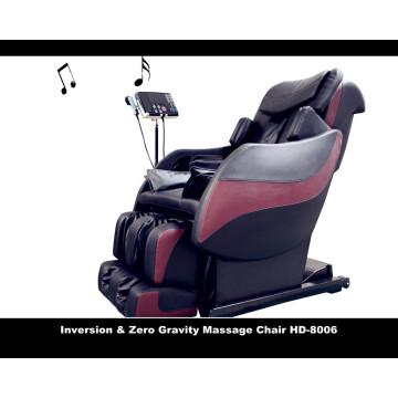 Silla de masaje de lujo, silla de masaje de masaje, silla de masaje de lujo 3d