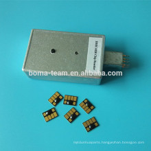 Resettable chips and chip resetter for HP81 83 5000 5500 Printers
