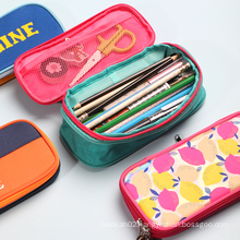 Custom Logo Oxforad Fabric Cute Kawaii Stationery BTS School Kids Girls Boys Pop Up Pencil Case