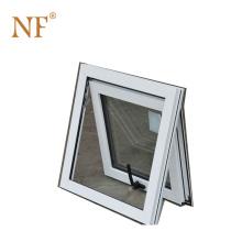 Hopper inward opening aluminum awning window