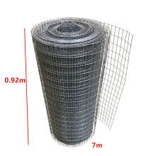 High Quality 0.92x7m Galvanized Animal Cage PVC Coated Fence Welded Wire Mesh Roll