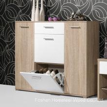 Gabinete de sapato de madeira personalizado (HF-EY08145)