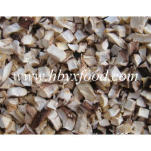 Dried Shiitake Mushroom Flakes Granules From Shiitake Leg