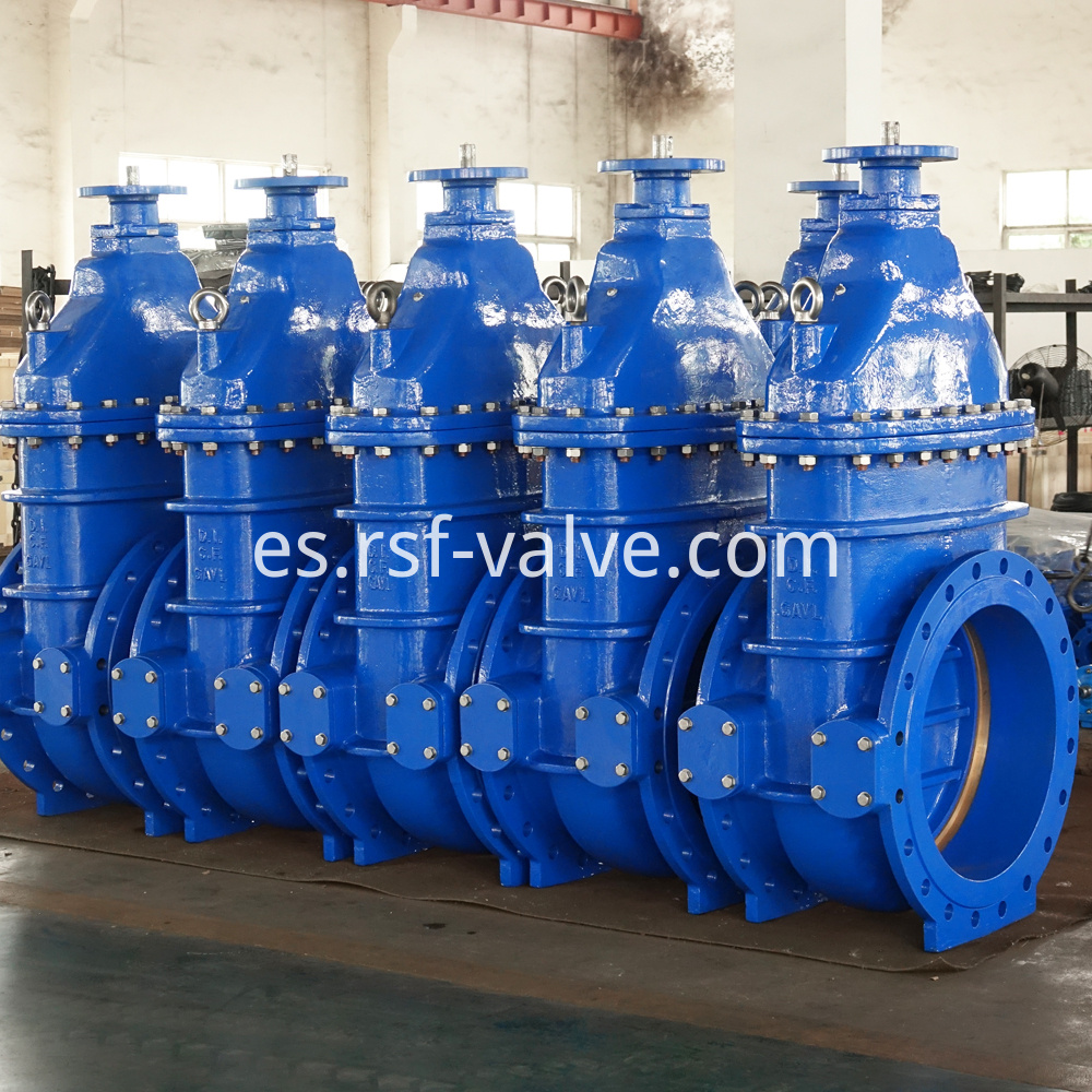 Bs5163 Metal Seat Gate Valve 1