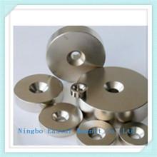 Permanent Ring Neodymium Magnet with Nickel Plating