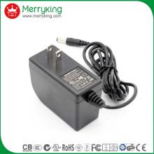 Fabrik Großhandel UL cUL FCC genehmigt Energieeffizienz Level VI 12V 2A AC DC Adapter