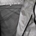 Chaleco de seguridad reflectante de plata para la actividad al aire libre