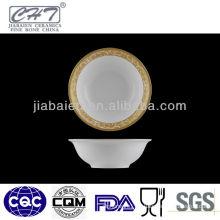 A010 Bone china porcelain sugar soup bowl ice cream bowl