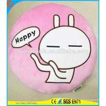 Hot Selling High Quality Novelty Design Christmas Gift Cartoon Rabbit Tuzki Plush Pillow