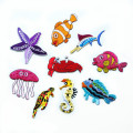 Sea World Animal Iron On Ricamo Patch Organismo