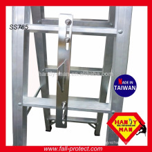 Vertical Lifeline System Stainless Steel Ladder Anchor Point With U Pins