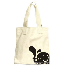 White Canvas Shopping Tote Hand Bags