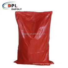 Chinese cheap price new virgin pp material plastic poultry animal feed food bags 25kg 50kg normal pp woven bags for animal feeds