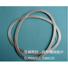 Special Materials Spiral Wound Gaskets Non-Rounded