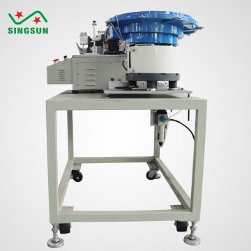 Bulk metalized film capacitor cutting machine