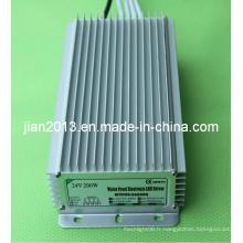 24V 200W haute puissance IP67 étanche LED Strip alimentation