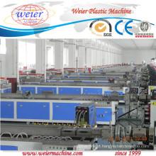 projeto de solução chave turnk para a máquina de extrusão de madeira plástica wpc