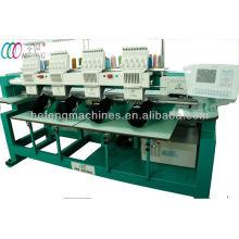 4 головки компьютеризированная вышивальная машина для колпачка и футболки