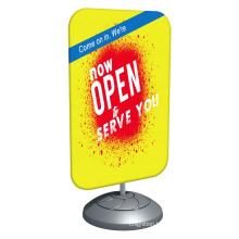 Advertising Metal Swing Pavement Sign