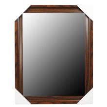Горячие продажи деревянные зерна зеркало кадра