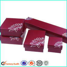 Luxury Cardboard Jewerly Bao bì Box Set