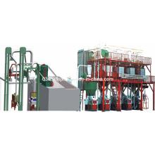 100 Tonnen pro Tag Mehl Fräsmaschinen (Plan Sifter)