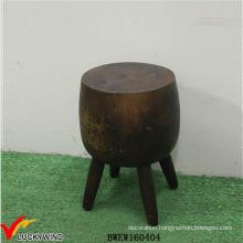 Unique Antique Wood Stump Stool Furniture