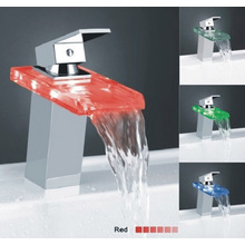 Chrome LED Basin Faucet